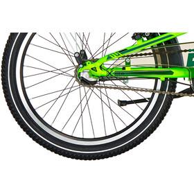 s'cool XXlite 20 3-S Steel Børn, neon green
